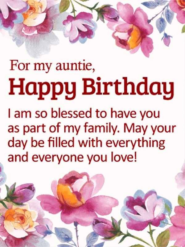 Picture: For My Auntie