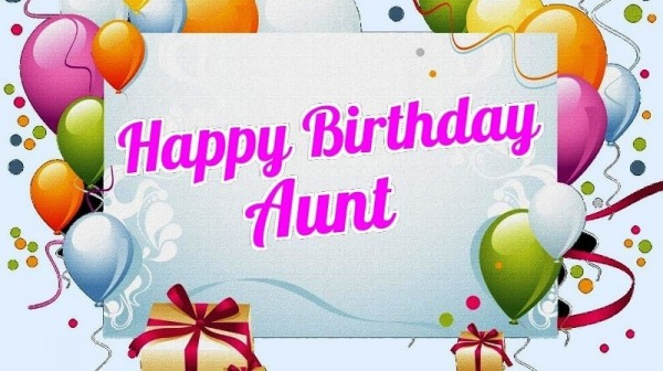 Picture: Happy Birthday Aunt