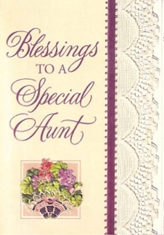 Picture: Blessings To A Special Aunt