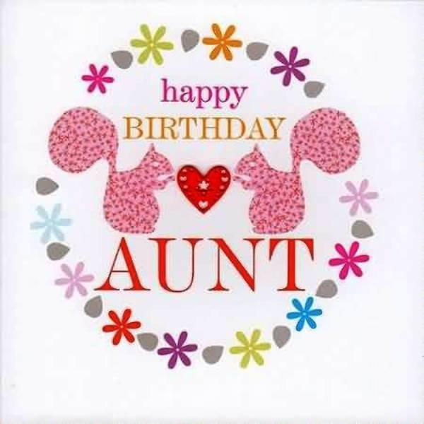 Picture: Happy Birthday Aunt Picture
