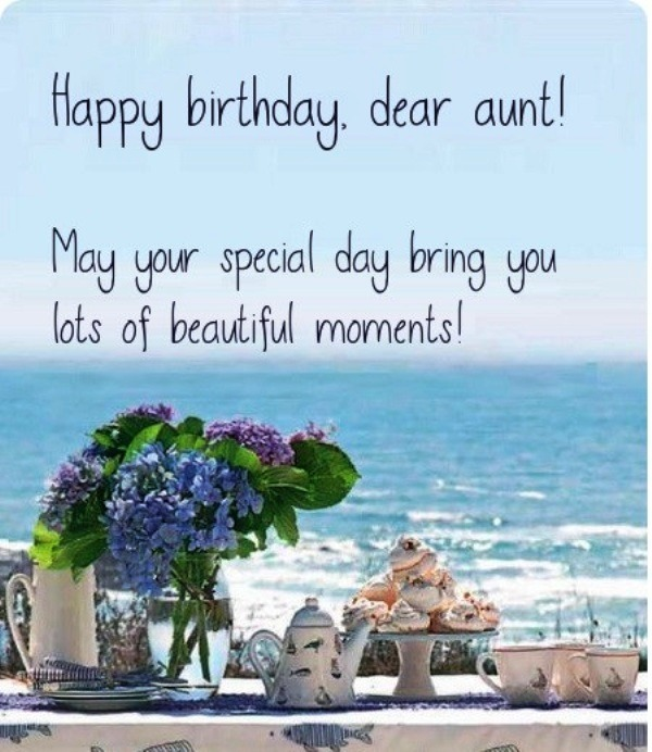 Picture: Happy Birthday Dear Aunt Pic