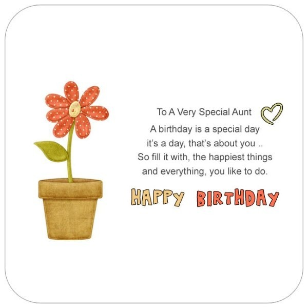 Picture: To A Very Special Aunt