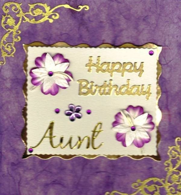 Image Of Happy Birthday Aunt