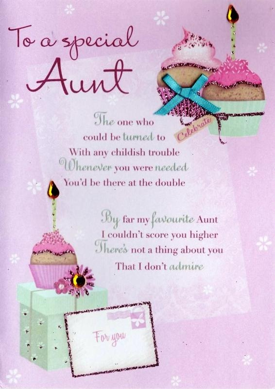 Picture: To A Special Aunt