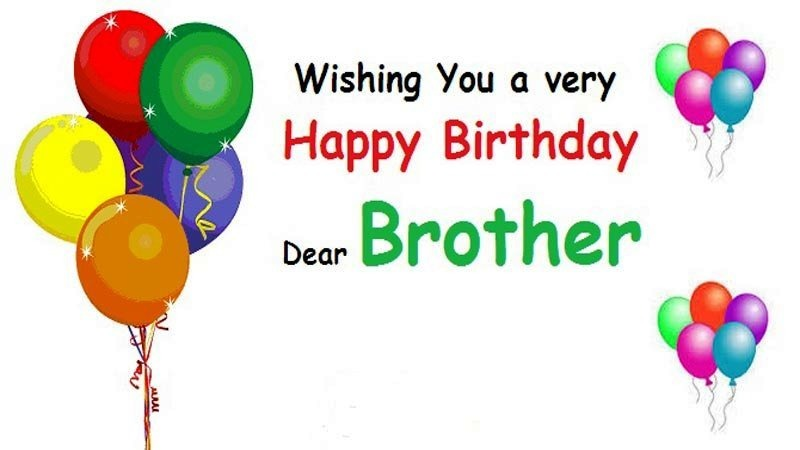 Birthday Wishes for Brother Pictures, Images, Graphics