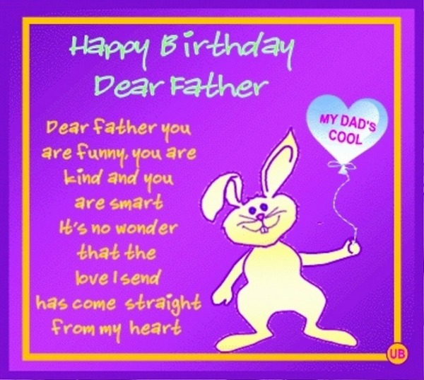 Picture: Happy Birthday Dear Father