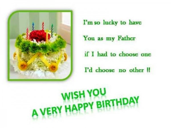 Picture: Wish You A Very Happy Birthday