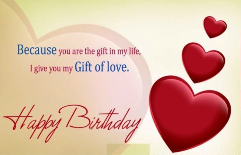 Picture I Give You My Gift Of Love Happy Birthday