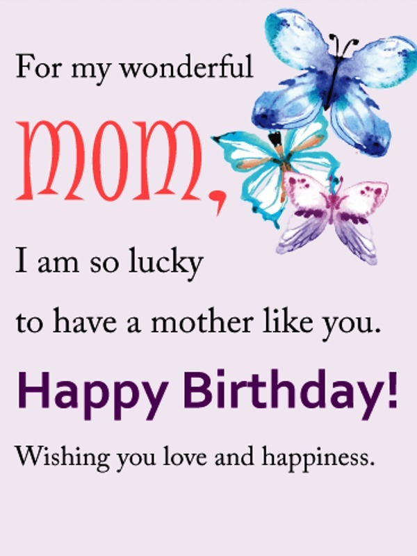 Picture: For My Wonderful Mom
