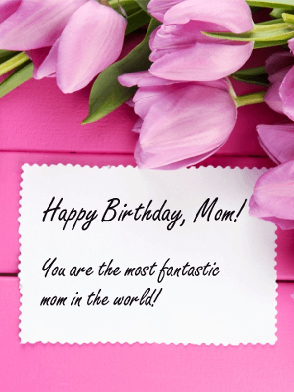 Picture: Happy Birthday Mom Picture