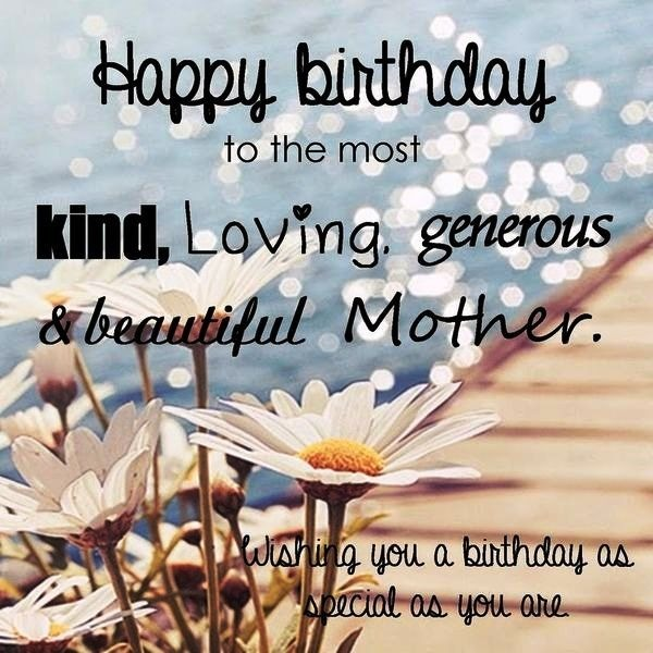 Picture: Happy Birthday To The Most Kind Loving Generous