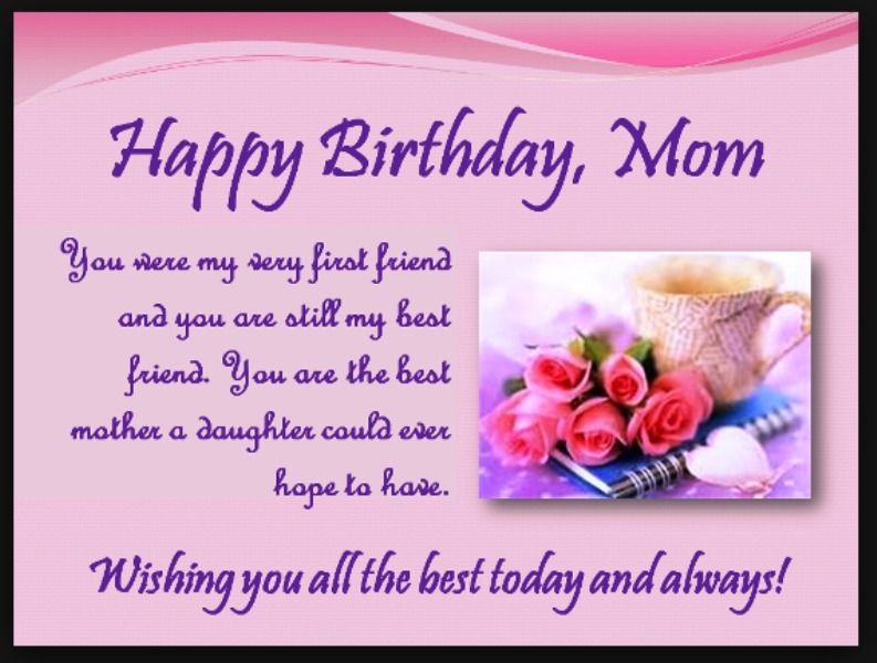 Birthday Wishes For Mother Pictures Images Graphics