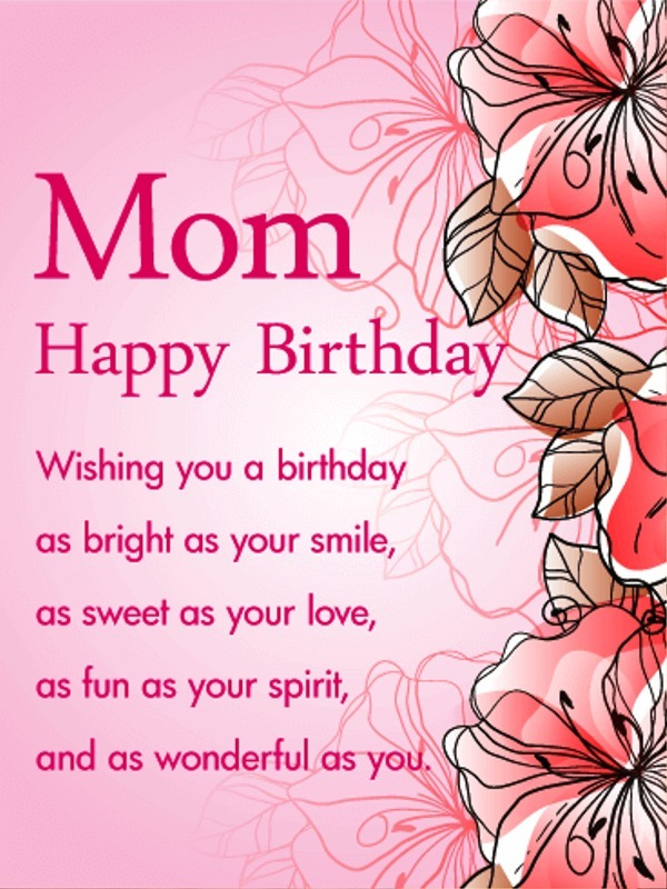 Picture: Mom Happy Birthday