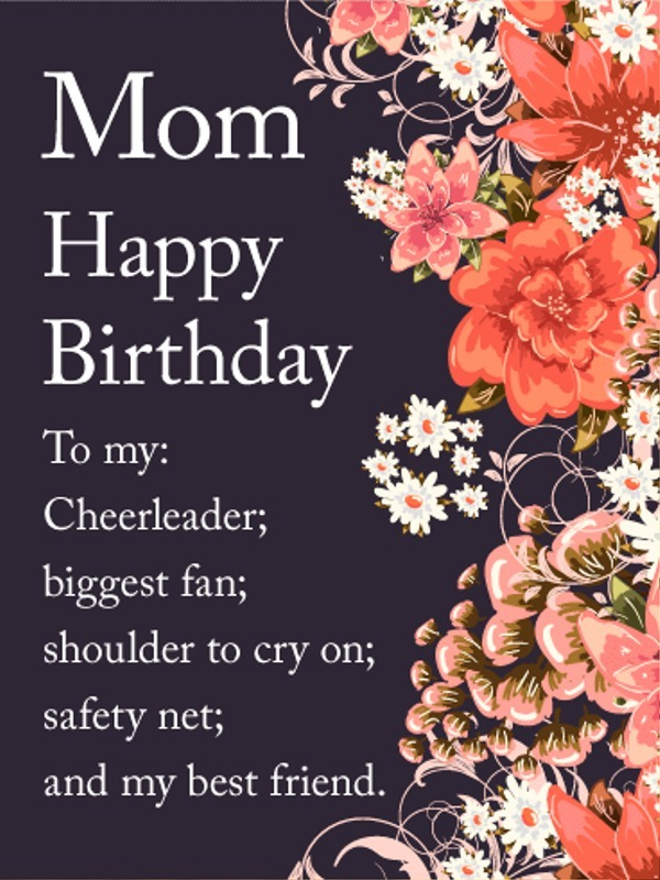 Picture: Mom Happy Birthday Nice Image