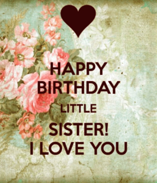 Picture: Happy Birthday Little Sister