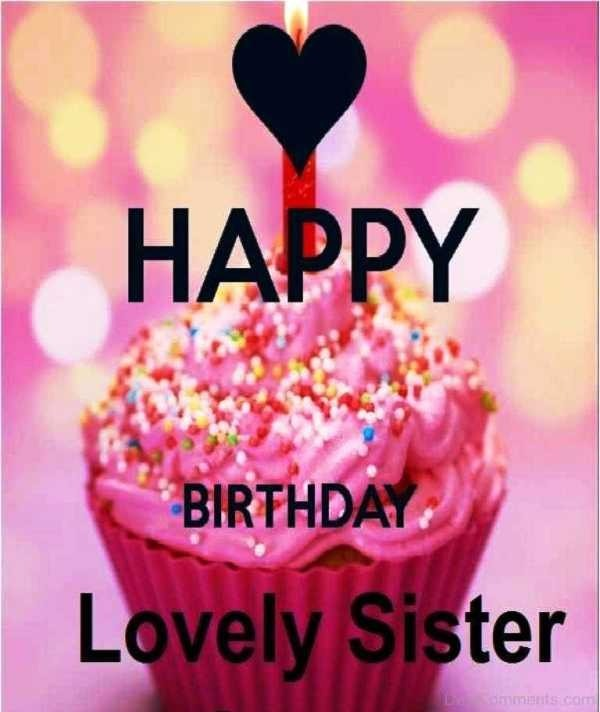 Picture: Happy Birthday Lovely Sister