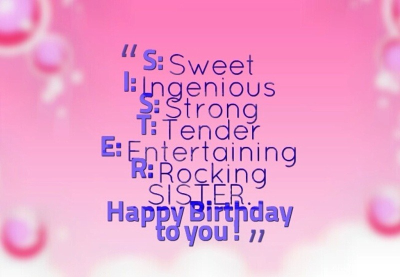 Birthday wishes for sister pictures images graphics picture happy birthday to you m4hsunfo