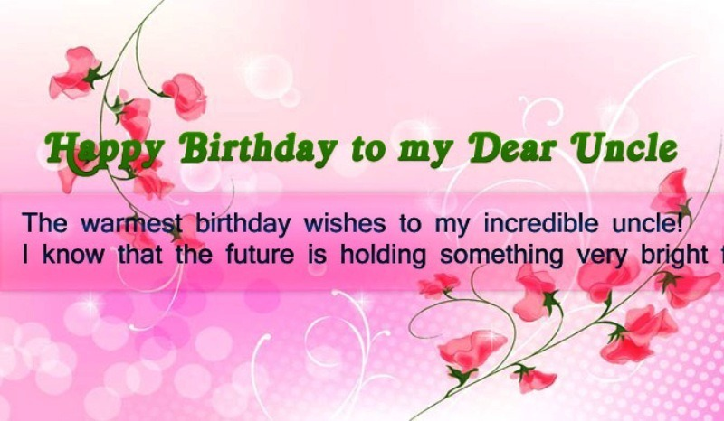 Happy Birthday To My Dear Uncle Desicomments Com