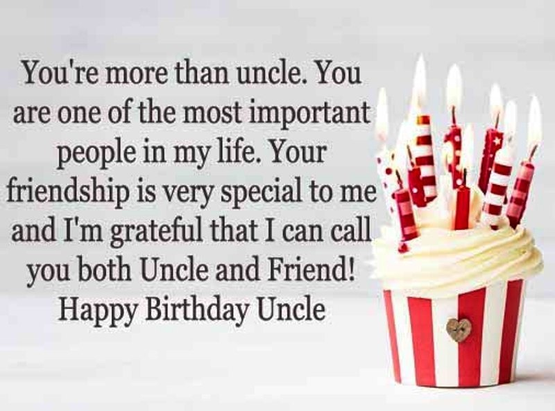 Birthday wishes for uncle pictures images graphics picture you are more than uncle m4hsunfo
