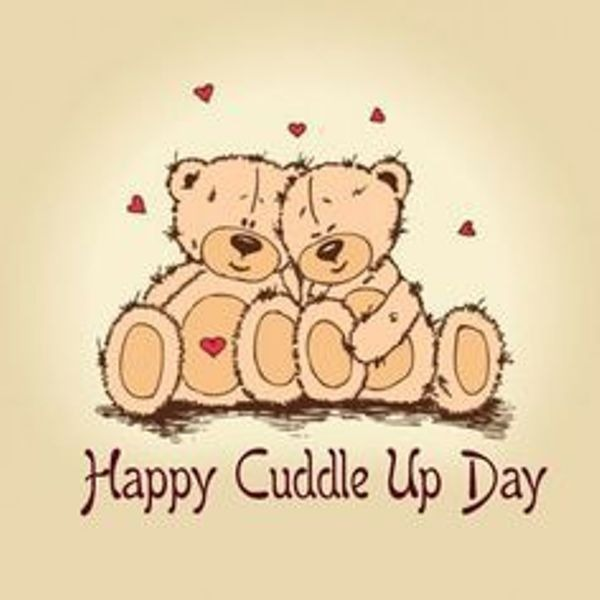 Happy Cuddle Up Day