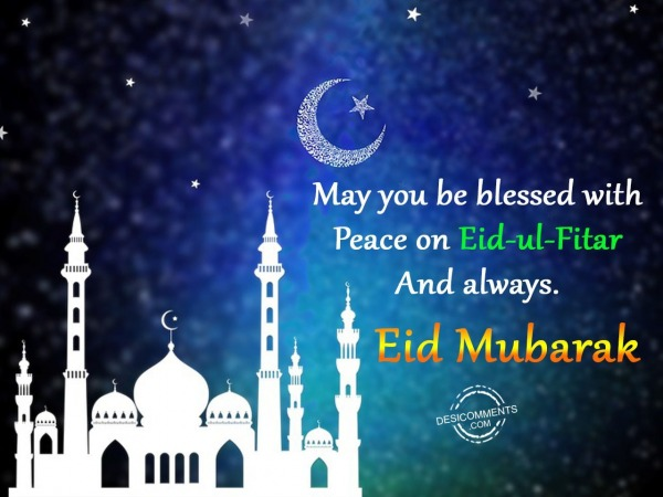 Picture: May you be blessed – Eid Mubarak