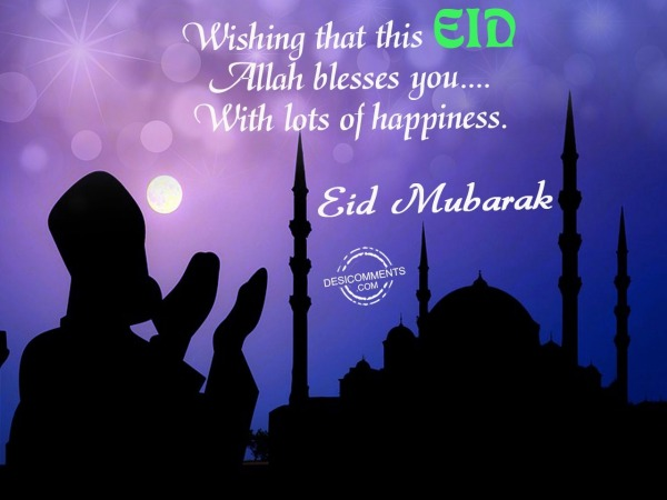 Picture: Wishing that this EID – Eid Mubarak