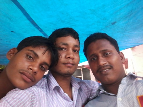 Sultan Shaikh With His Friends