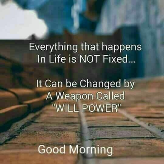 Everything That Happens In Life Is Not Fixed