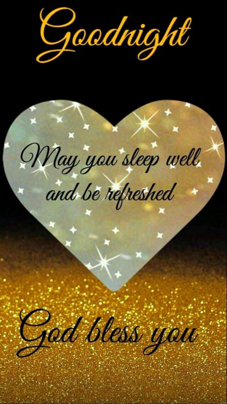 My You Sleep Well And Be Refreshed