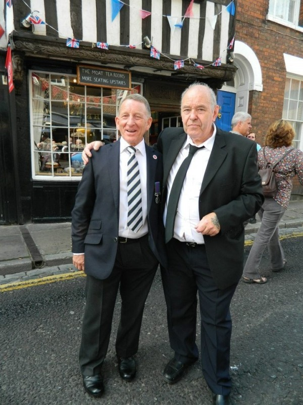 Picture: John & Mick Meet Up After After 43 Years