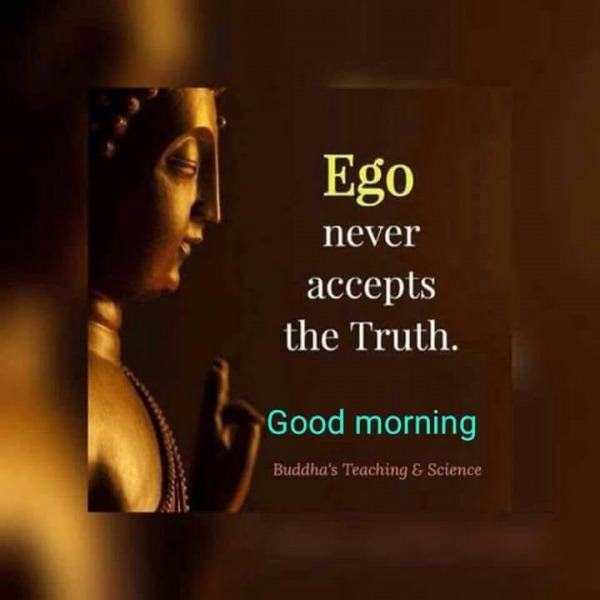 Ego Never Accepts The Truth