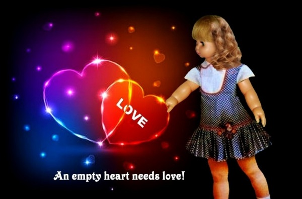 Picture: An Empty Heart Needs Love