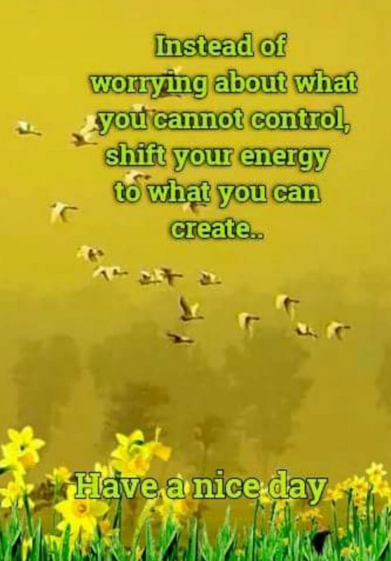 Shift Your Energy To What You Can Create