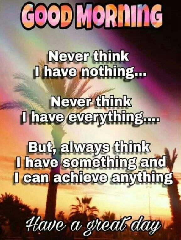 Never Think I Have Nothing
