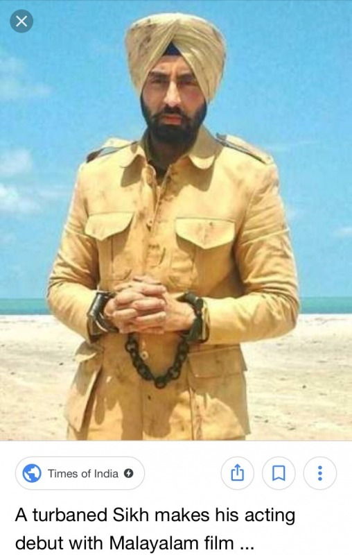 Picture: Bollywood Sikh Actor Simarjeet Singh Nagra