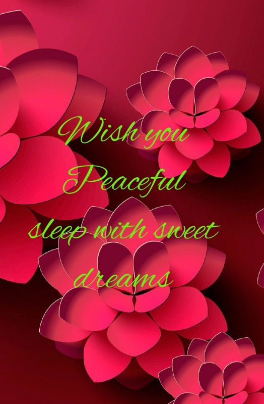 Wish You Peaceful Sleep