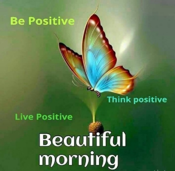 Picture: Be Positive Think Positive Live Positive