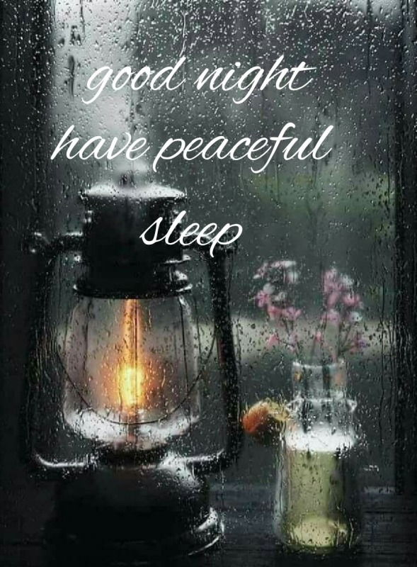 Good Night Have Peaceful Sleep