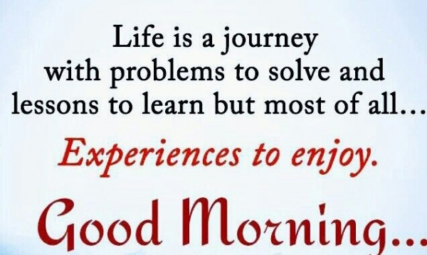 Life Is A Journey With Problems