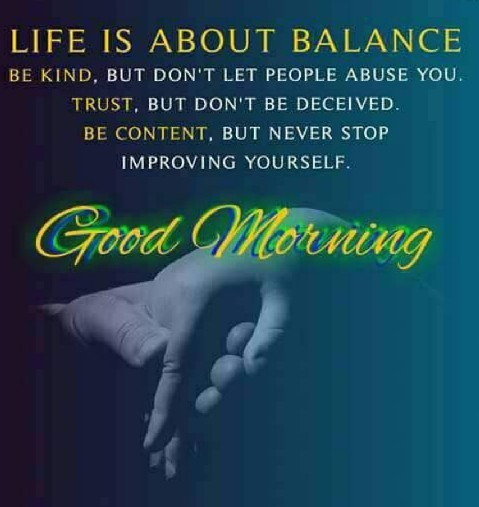 Life Is About Balance