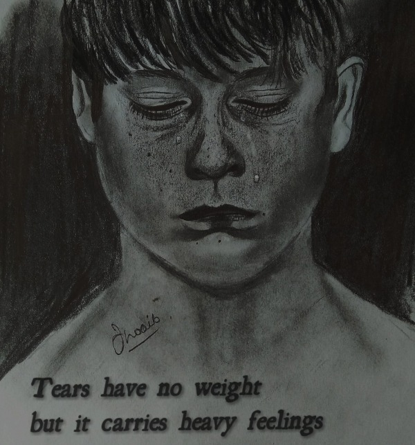 Tears Have No Weight But It Carries Heavy Feelings