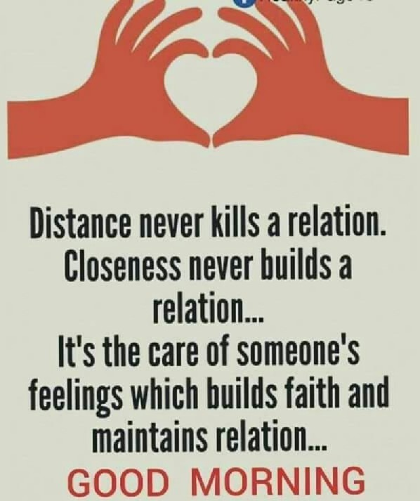Distance Never Kills A Relation