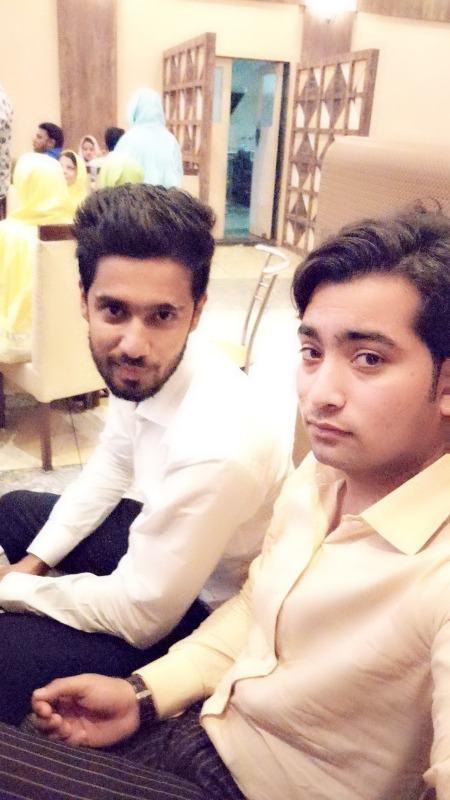 Picture: Best Friends Danish Khan And Daud Ghori
