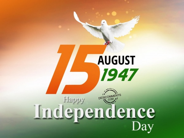 Picture: 15 aug 1947, Happy Independence Day