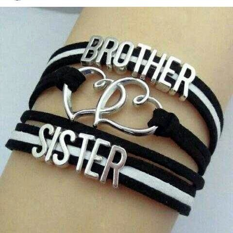 Brother And Sister Wrist Band