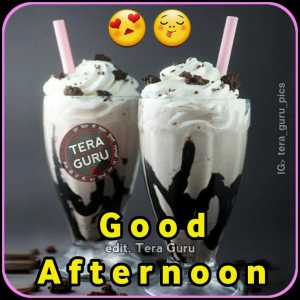 Good Afternoon With Ice Cream
