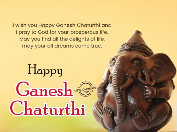 Picture: I wish you a very happy Ganesh Chaturthi