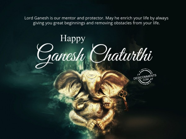 Picture: Lord Ganesh is our mentor