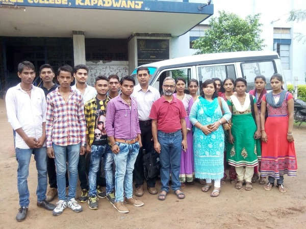 Hitesh Solanki And His College Friends And Teachers