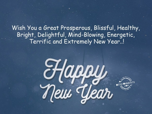 Picture: Wish You a Great Prosperous New Year